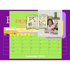 Year Of Calendar By C1   Desktop Calendar 8 5  X 6    1gkrmjicuzbo   Www Artscow Com Sep 2014