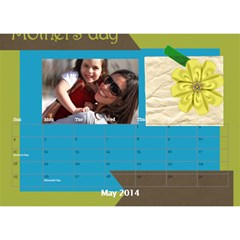 Year Of Calendar By C1   Desktop Calendar 8 5  X 6    177pzjup5l9w   Www Artscow Com May 2014