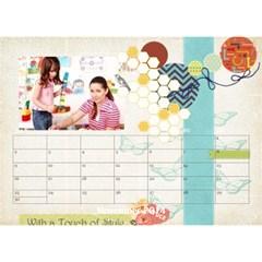 Year Of Calendar By C1   Desktop Calendar 8 5  X 6    Wnqm1toxsmsr   Www Artscow Com Nov 2014
