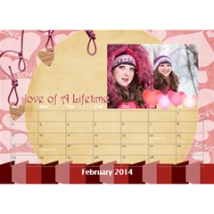 Year Of Calendar By C1   Desktop Calendar 8 5  X 6    Wnqm1toxsmsr   Www Artscow Com Feb 2014