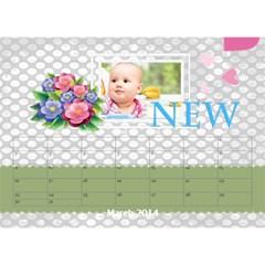 Year Of Calendar By C1   Desktop Calendar 8 5  X 6    Wnqm1toxsmsr   Www Artscow Com Mar 2014