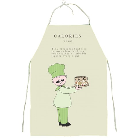 In The Kitchen By Chatting   Full Print Apron   Stgfn8hho006   Www Artscow Com Front