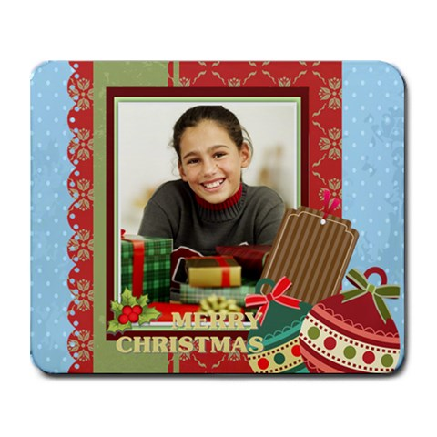 Christmas By Merry Christmas   Collage Mousepad   Lmfvjmb63dak   Www Artscow Com 9.25 x7.75  Mousepad - 1