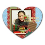 christmas - Heart Mousepad