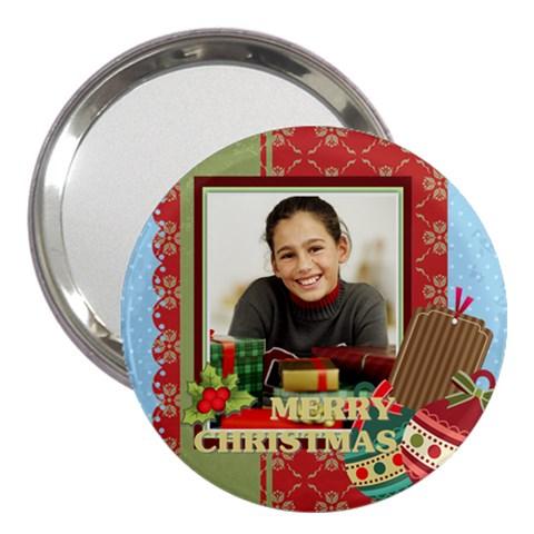 Christmas By Merry Christmas   3  Handbag Mirror   B1oqa2p39zrl   Www Artscow Com Front