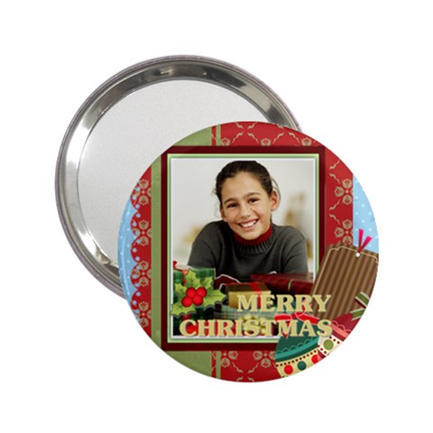 Christmas By Merry Christmas   2 25  Handbag Mirror   S65968dt9x8u   Www Artscow Com Front