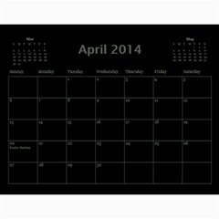 Dug 2014 By Nikki Johnson   Wall Calendar 11  X 8 5  (12 Months)   Lg9kkbrsjig0   Www Artscow Com Apr 2014