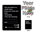 CaH Black Cards 5 - Playing Cards 54 Designs