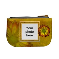 Yellow Daisy Mini Coin Purse By Lil    Mini Coin Purse   O0btfxd405e7   Www Artscow Com Back