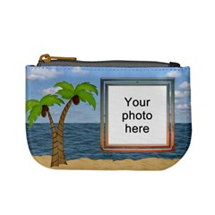 Palm Tree Mini Coin Purse By Lil    Mini Coin Purse   Wgbs0ulzxq31   Www Artscow Com Front