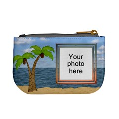 Palm Tree Mini Coin Purse By Lil    Mini Coin Purse   Wgbs0ulzxq31   Www Artscow Com Back