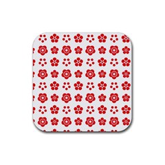 Flowers Drink Coasters 4 Pack (square) by pinguindesigns