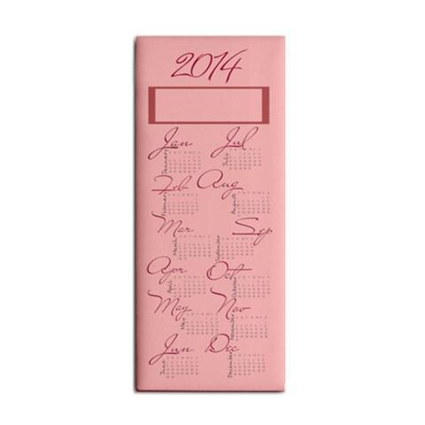 Pink Calendar 2014 In Hand Towel By Zornitza   Hand Towel   Nrey8sp91gk6   Www Artscow Com Front