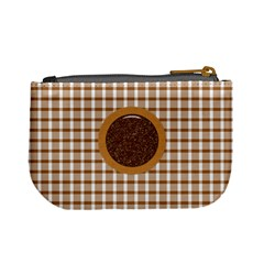 Basix Brown Coin Purse By Lisa Minor   Mini Coin Purse   Rcdado46bf5m   Www Artscow Com Back