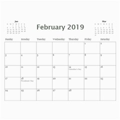 Wall Calendar 11 X 8 5   My Boy By Jennyl   Wall Calendar 11  X 8 5  (12 Months)   4l5tk5c7jks1   Www Artscow Com Feb 2016