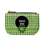 Basix Green Coin Bag - Mini Coin Purse