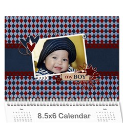 Wall Calendar 8 5 X 6   My Boy By Jennyl   Wall Calendar 8 5  X 6    4b3k3f5amona   Www Artscow Com Cover