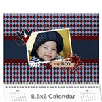 Wall Calendar 8.5 x 6 - My Boy