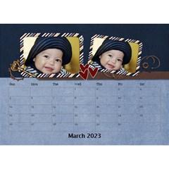 Desktop Calendar 8 5  X 6    My Boy By Jennyl   Desktop Calendar 8 5  X 6    Vs4cv1p0ne0d   Www Artscow Com Mar 2016