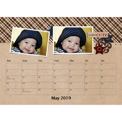 Desktop Calendar 8 5  X 6    My Boy By Jennyl   Desktop Calendar 8 5  X 6    Vs4cv1p0ne0d   Www Artscow Com May 2016