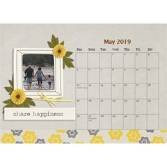 Desktop Calendar 8 5  X 6    Happiness By Jennyl   Desktop Calendar 8 5  X 6    79do6knomg65   Www Artscow Com May 2019
