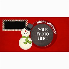 Joyful Joyful Card 1 By Lisa Minor   4  X 8  Photo Cards   P850zp1sdxe9   Www Artscow Com 8 x4 Photo Card - 1