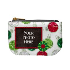 Merry And Bright Coin Bag 1 By Lisa Minor   Mini Coin Purse   Cqihpnelstde   Www Artscow Com Front