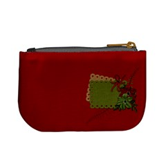 Christmas Cluster Coin Bag By Lisa Minor   Mini Coin Purse   4r368xzcki82   Www Artscow Com Back