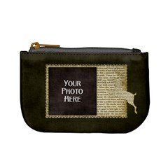 And To All A Good Night Coin Bag 1 By Lisa Minor   Mini Coin Purse   Yv7v5wfrqrla   Www Artscow Com Front