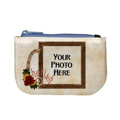 Thoughts Of Friendship Coin Bag 2 By Lisa Minor   Mini Coin Purse   Bzwutlkv4w3a   Www Artscow Com Front