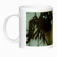 Spider Baby Glow In The Dark Mug by tammystotesandtreasures