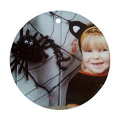 Spider Baby Round Ornament (two Sides)