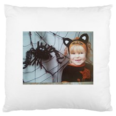 Spider Baby Large Cushion Case (one Side) by tammystotesandtreasures