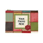 Thoughts of Friendship Large Cosmetic Bag 1 - Cosmetic Bag (Large)