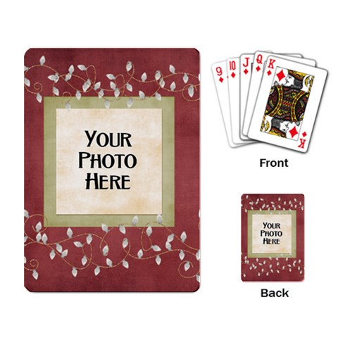 And To All A Good Night Playing Cards 2 By Lisa Minor   Playing Cards Single Design   Jcppbtsg86as   Www Artscow Com Back