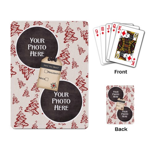 Joyful Joyful Playing Cards 1 By Lisa Minor   Playing Cards Single Design   Gnvy9t02yml3   Www Artscow Com Back