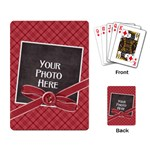Peace Joy Love Playing Cards 2 - Playing Cards Single Design
