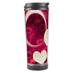 Pink Love Travel Tumbler By Ellan   Travel Tumbler   1e0c5age8lhh   Www Artscow Com Left