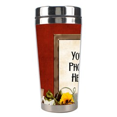 An Autumn Story Tumbler By Lisa Minor   Stainless Steel Travel Tumbler   Smh9wz415mtm   Www Artscow Com Left