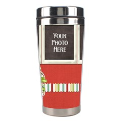 Happy Holidays Tumbler By Lisa Minor   Stainless Steel Travel Tumbler   Wb6iccb0pjog   Www Artscow Com Center