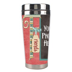 Thoughts Of Friendship Mug 3 By Lisa Minor   Stainless Steel Travel Tumbler   9g7u1w00yqc0   Www Artscow Com Left