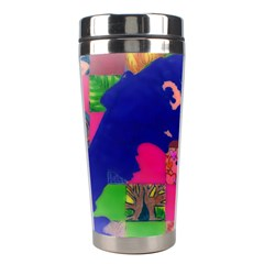 Busy Work Stainless Steel Travel Tumbler by JacklyneMae