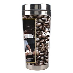 Coffee Stainless Steel Travel Tumbler By Deborah   Stainless Steel Travel Tumbler   P9rl73id6dll   Www Artscow Com Center