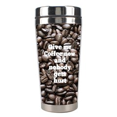 Coffee Stainless Steel Travel Tumbler By Deborah   Stainless Steel Travel Tumbler   P9rl73id6dll   Www Artscow Com Right