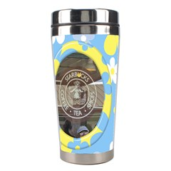 Sunshine Stainless Steel Travel Tumbler By Deborah   Stainless Steel Travel Tumbler   7uhtoimh282y   Www Artscow Com Left