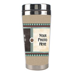 Watch Me Grow Boy Tumbler 1 By Lisa Minor   Stainless Steel Travel Tumbler   Rmj1y2t6aypk   Www Artscow Com Right