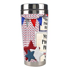 365 July Tumbler By Lisa Minor   Stainless Steel Travel Tumbler   Utf3xvpcglsc   Www Artscow Com Left