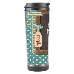 Thoughts Of Friendship Tumbler P1 By Lisa Minor   Travel Tumbler   Flknoqophzxc   Www Artscow Com Left