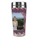 Pin Swirl Stainless Steel Travel tumbler