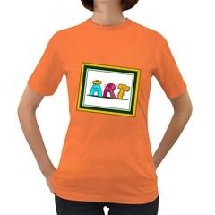 Sick Art Womens' T Shirt (colored)